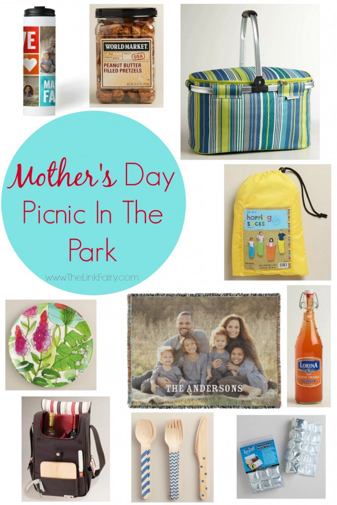Surprise Mom with a fun picnic in the park for Mother's Day with products from World Market! #MyAmazingMom #WorldMarket #MothersDay