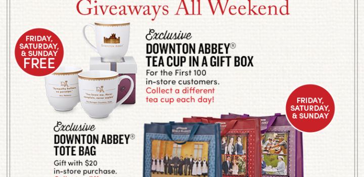 Downton Abbey takes over Cost Plus World Market – Tea, Prizes, Products & More! #DoTheDownton #DowntonAbbey #WorldMarketTribe