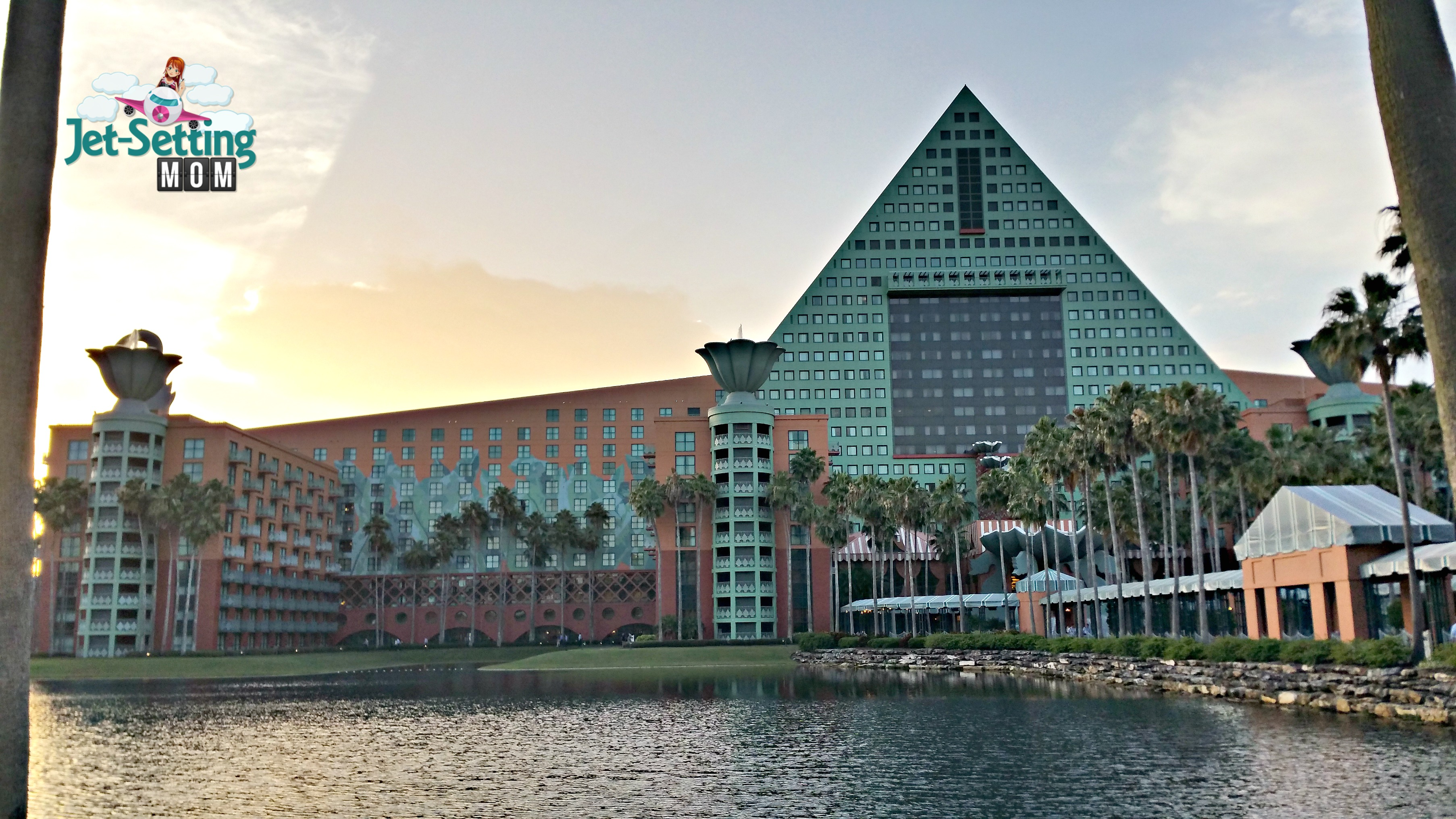 The Swan and Dolphin Resort is a great on-site resort option!