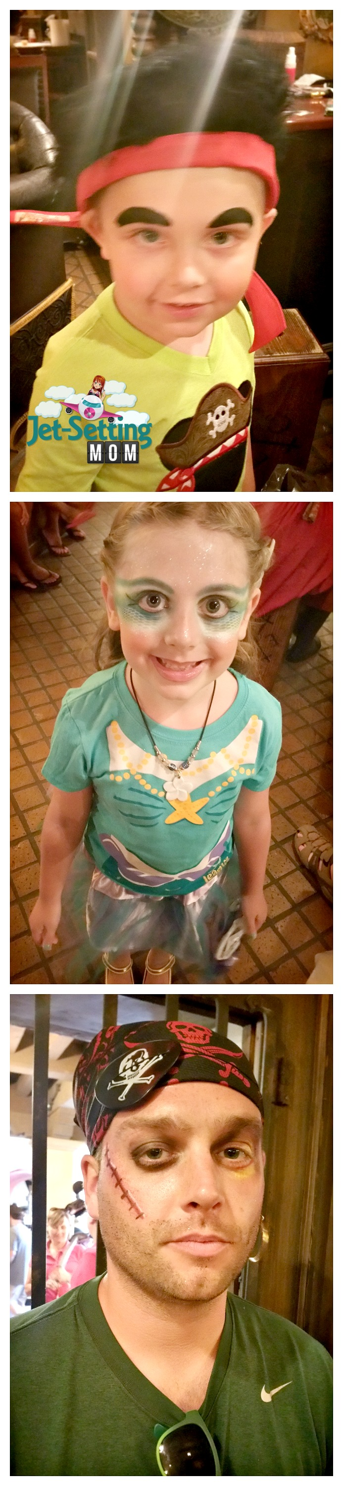 Turn into a pirate or mermaid at Disney's Pirate League!