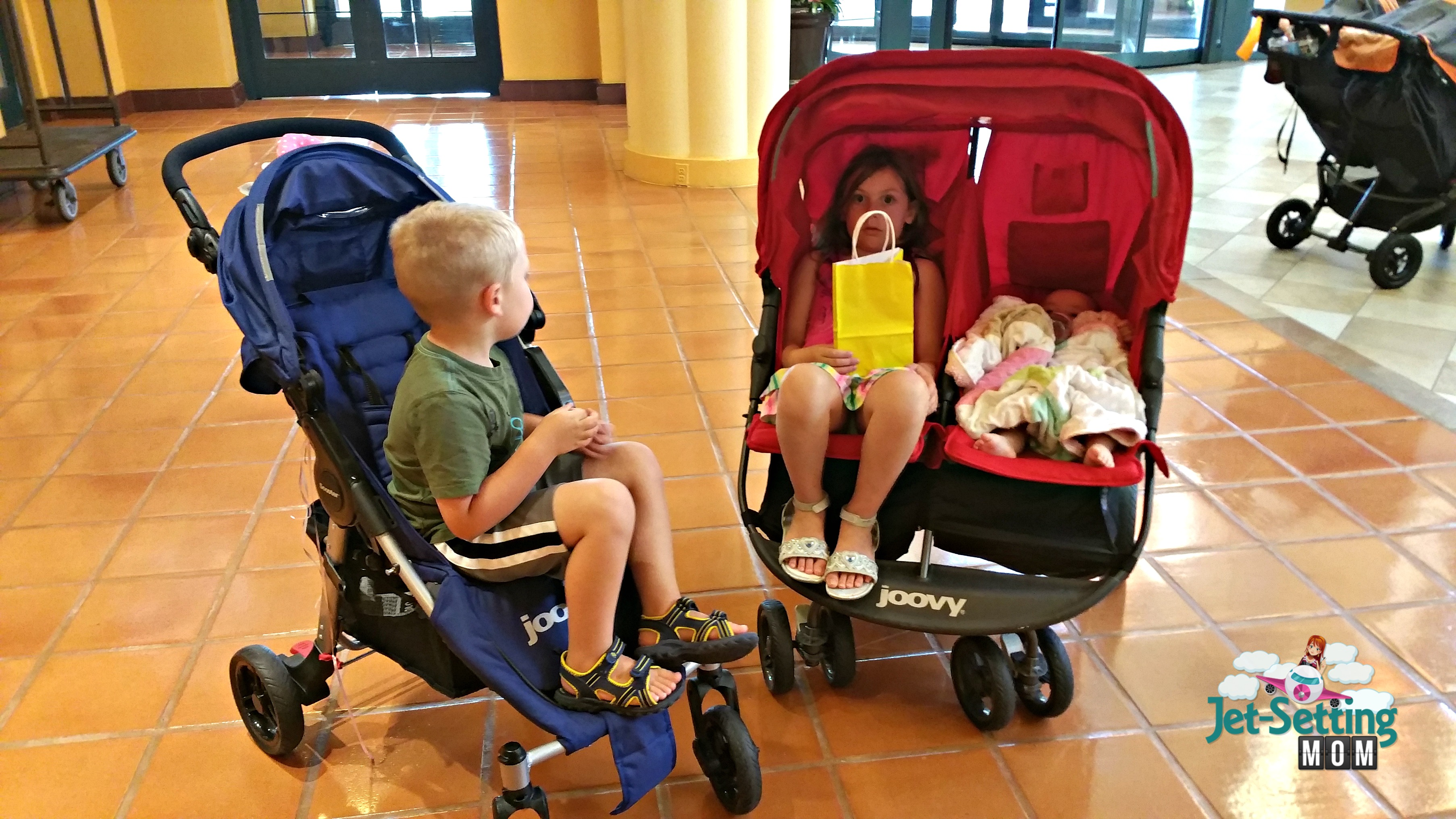 always bring a stroller to Disney!
