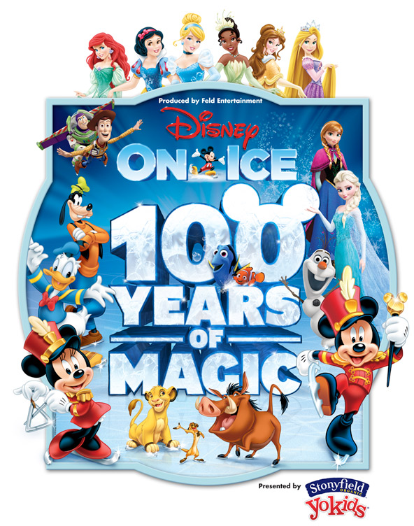 Disney on ice 100 years of magic ticket giveaway Are we going to get snow this year 2016