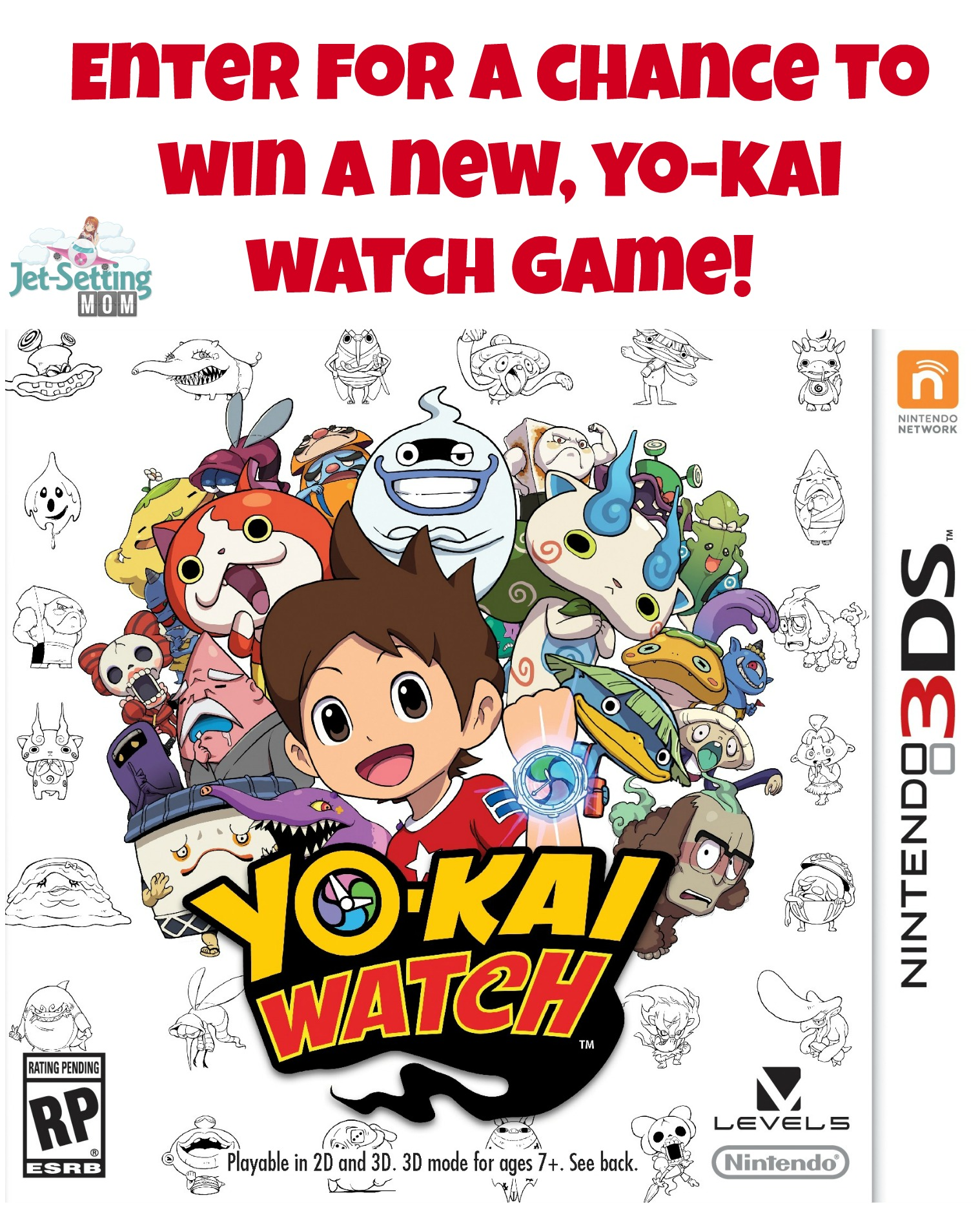 Enter for a chance to win a new Yo-Kai Watch video game ! #IC #YoKaiWatch #ad #giveaway #gamer #videogame