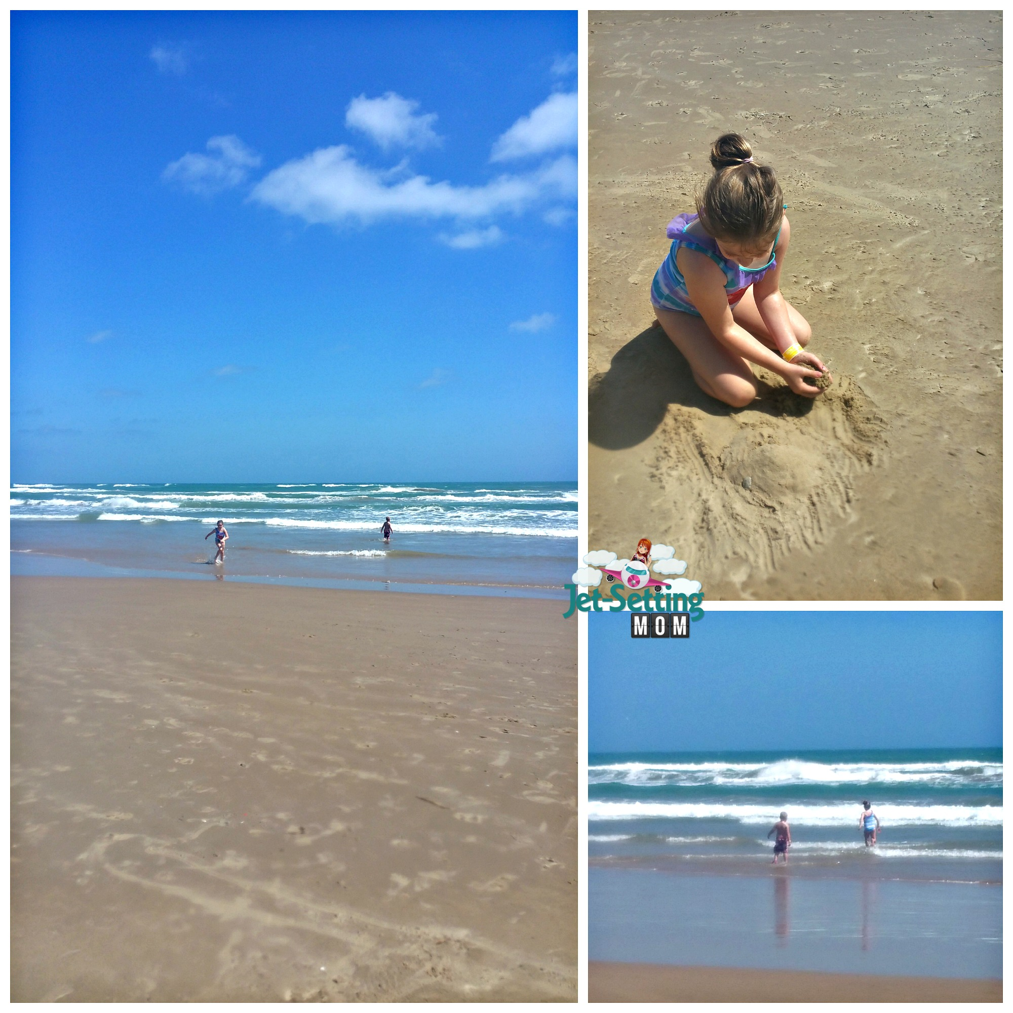 Fun at the beaches at Schlitterbahn South Padre Island, TX