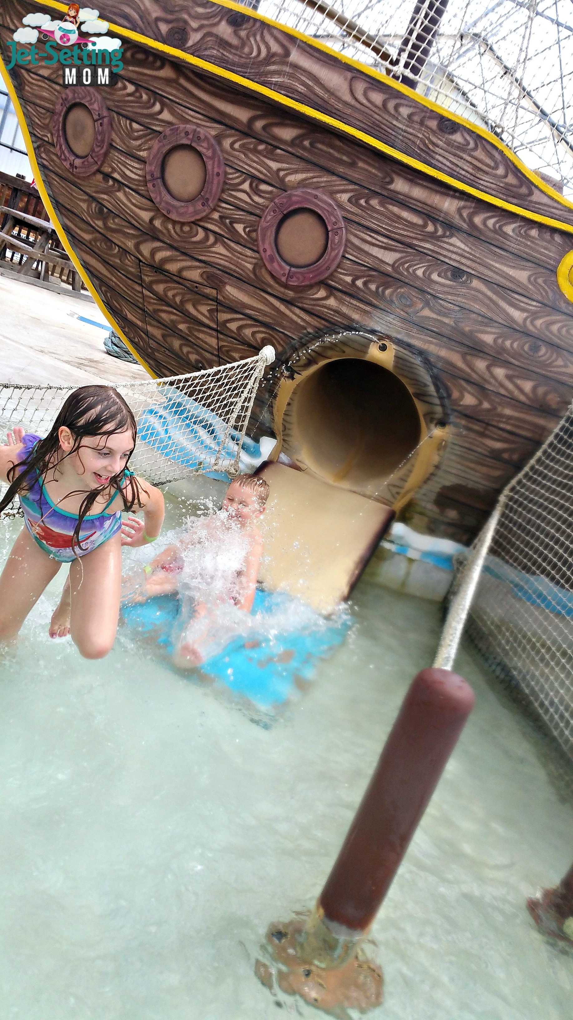 Indoor Waterpark fun at Schlitterbahn South Padre Island, TX