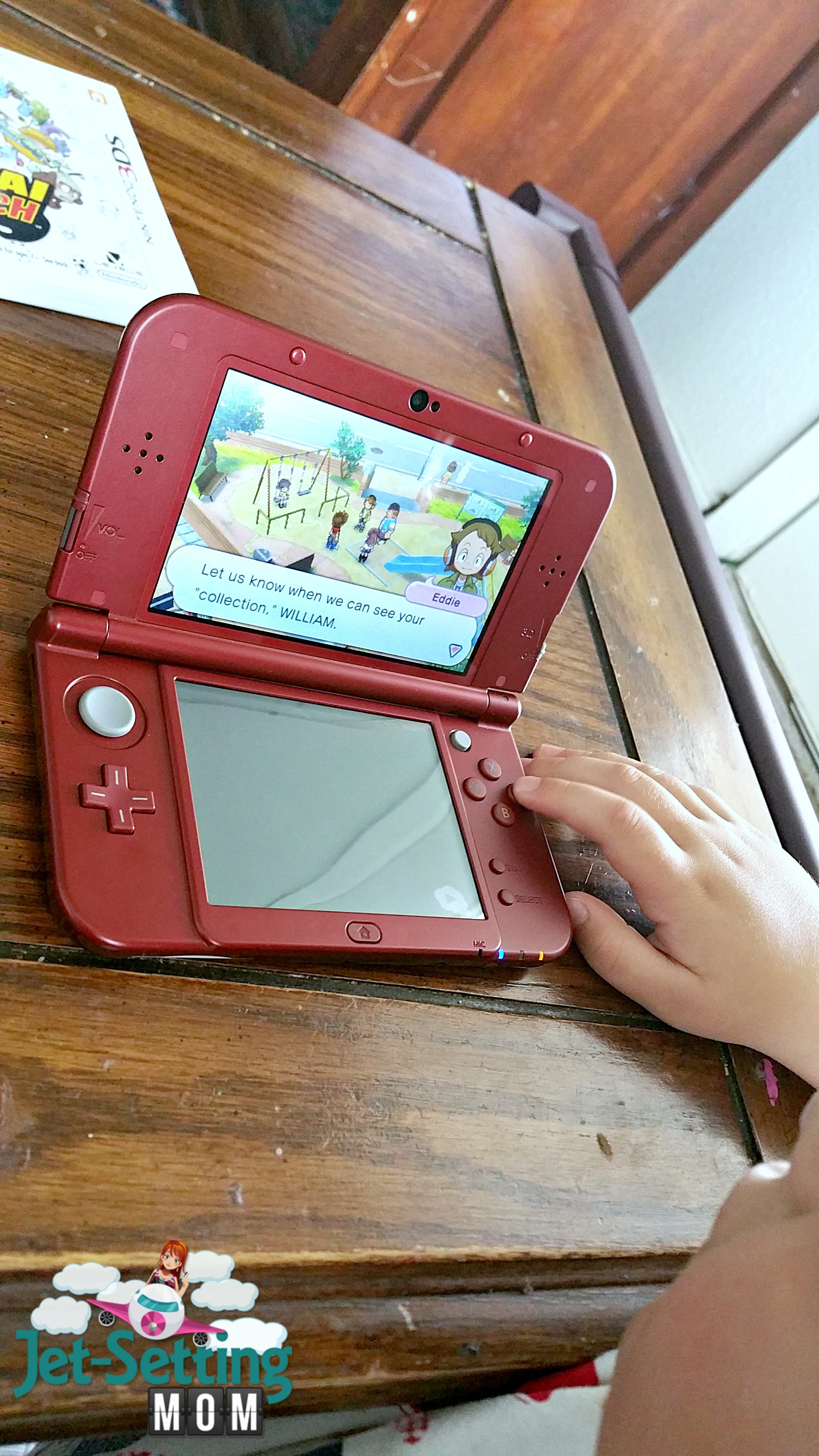 My kiddos love playing the new Nintendo Yo-Kai Watch game!