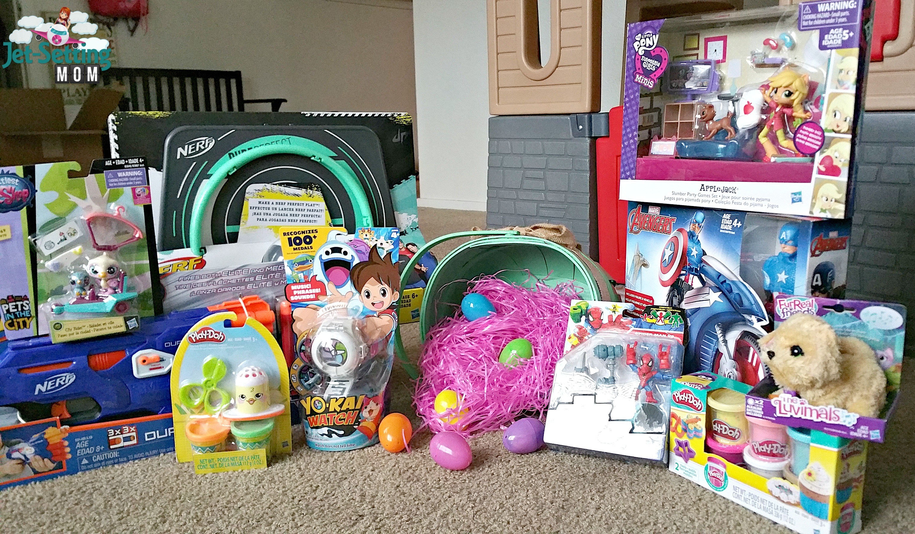 Toys For Spring : Fill their baskets new spring toys from hasbro