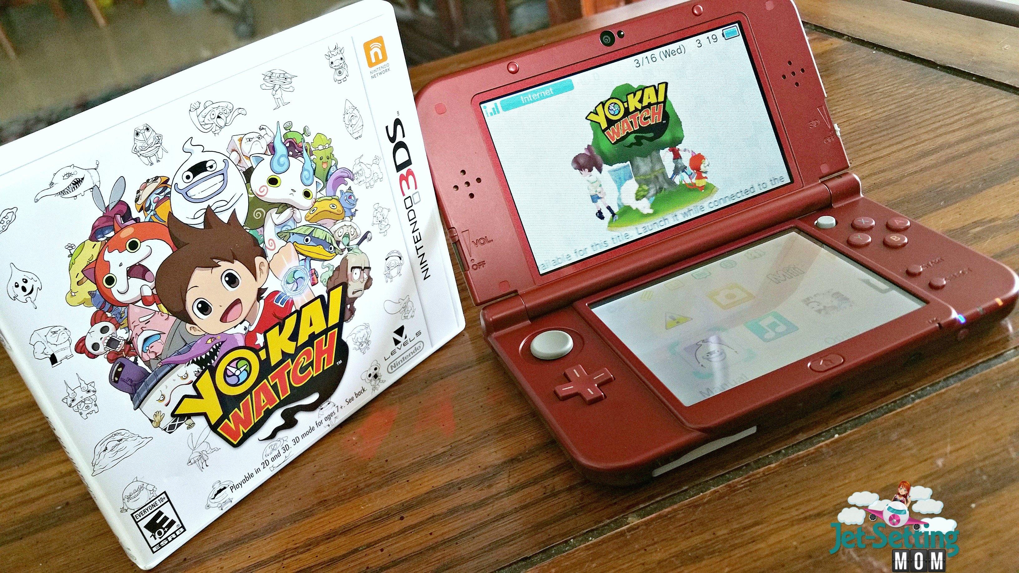 Nintendo Yo-Kai Watch Game on the 3DS XL