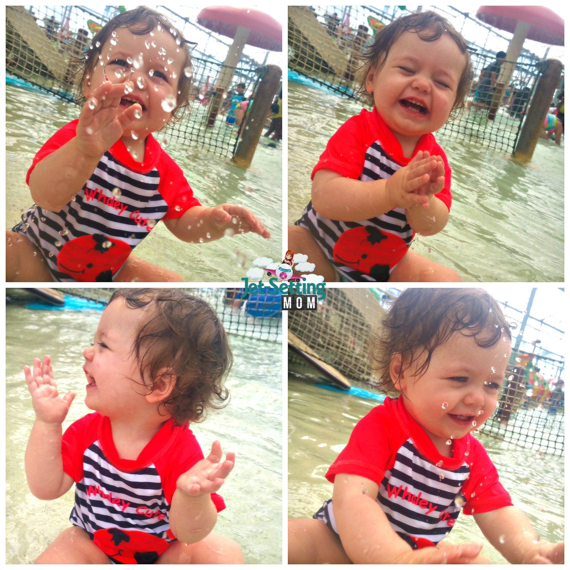 Schlitterbahn South Padre Island's indoor waterpark is great for toddlers!