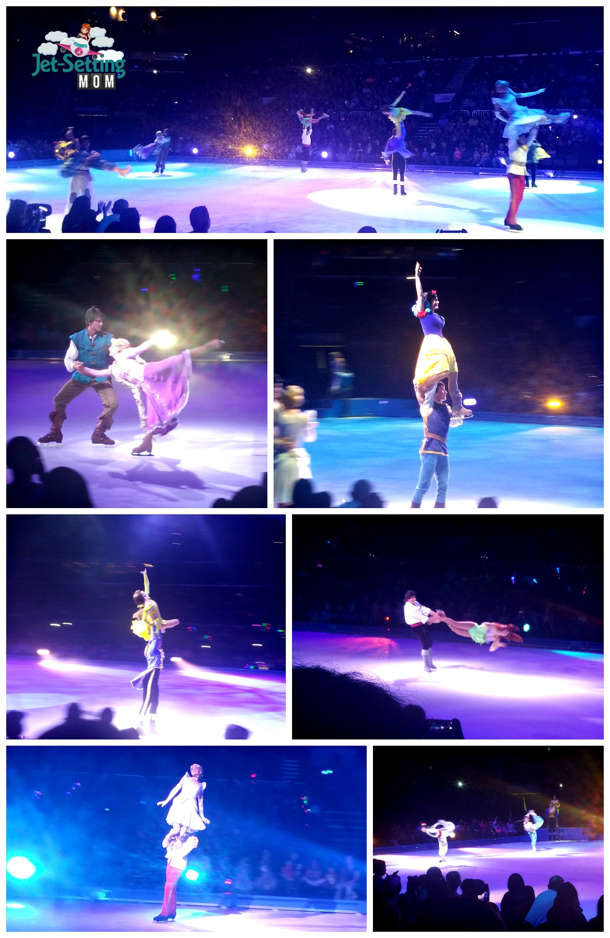 Disney Princesses at Feld Entertainment's Disney On Ice 100 Years Of Magic #disneyonice #disney #travel