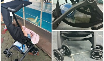 Take family adventures to a new level with the gb Pockit stroller!