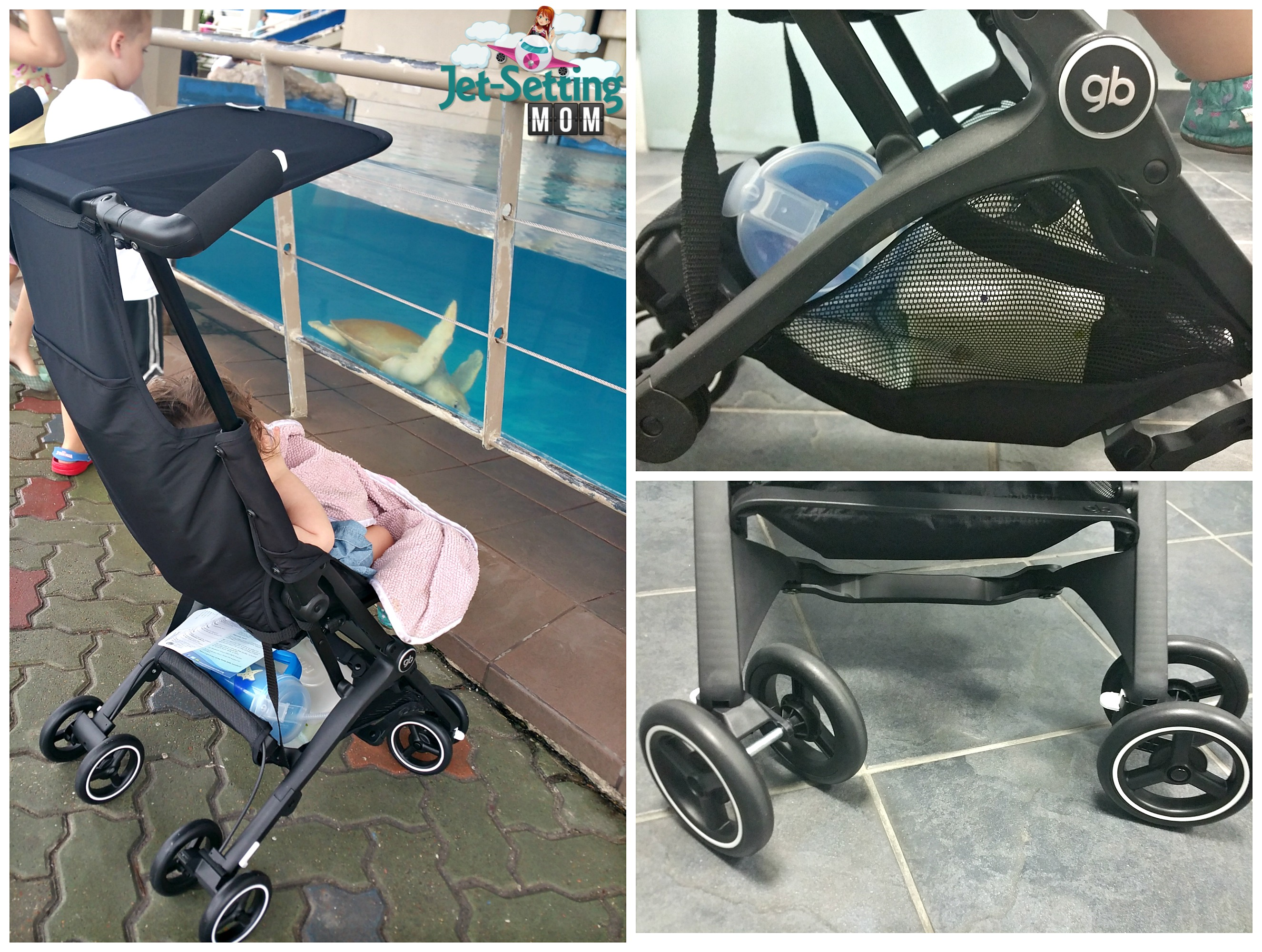 gb Pockit is the perfect on the go stroller