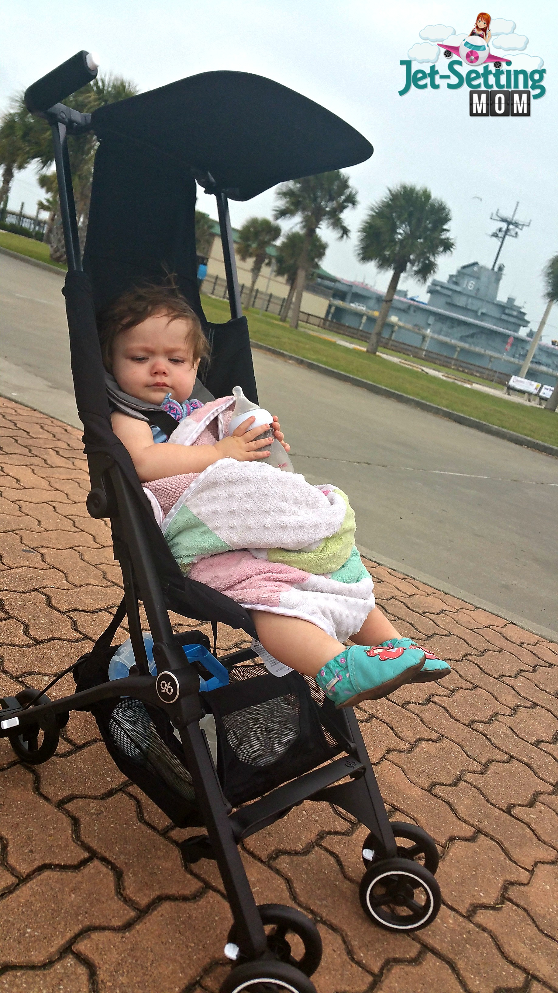 gb pockit stroller is great for travel! #ic #ad #gbpockit