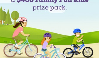 Teach your kids to ride a bike with Schwinn SmartStart bicycles + giveaway
