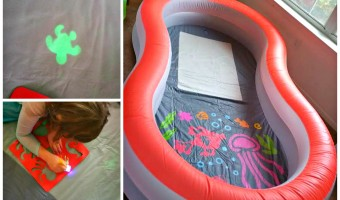 Have indoor & outdoor fun this Summer with the H2OGO Doodle Glow Pool