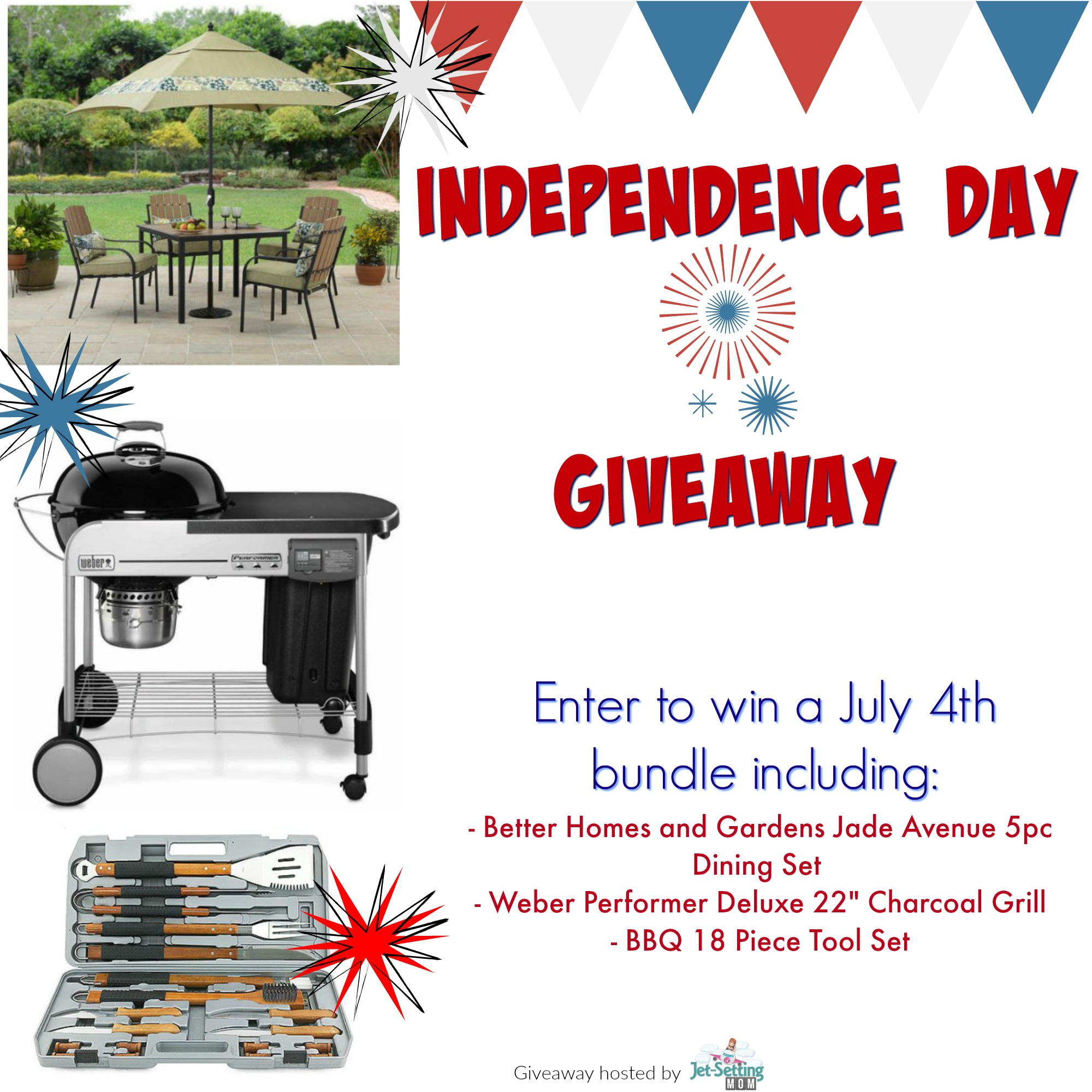 Enter to win over $800 in prizes in the Independence Day Giveaway