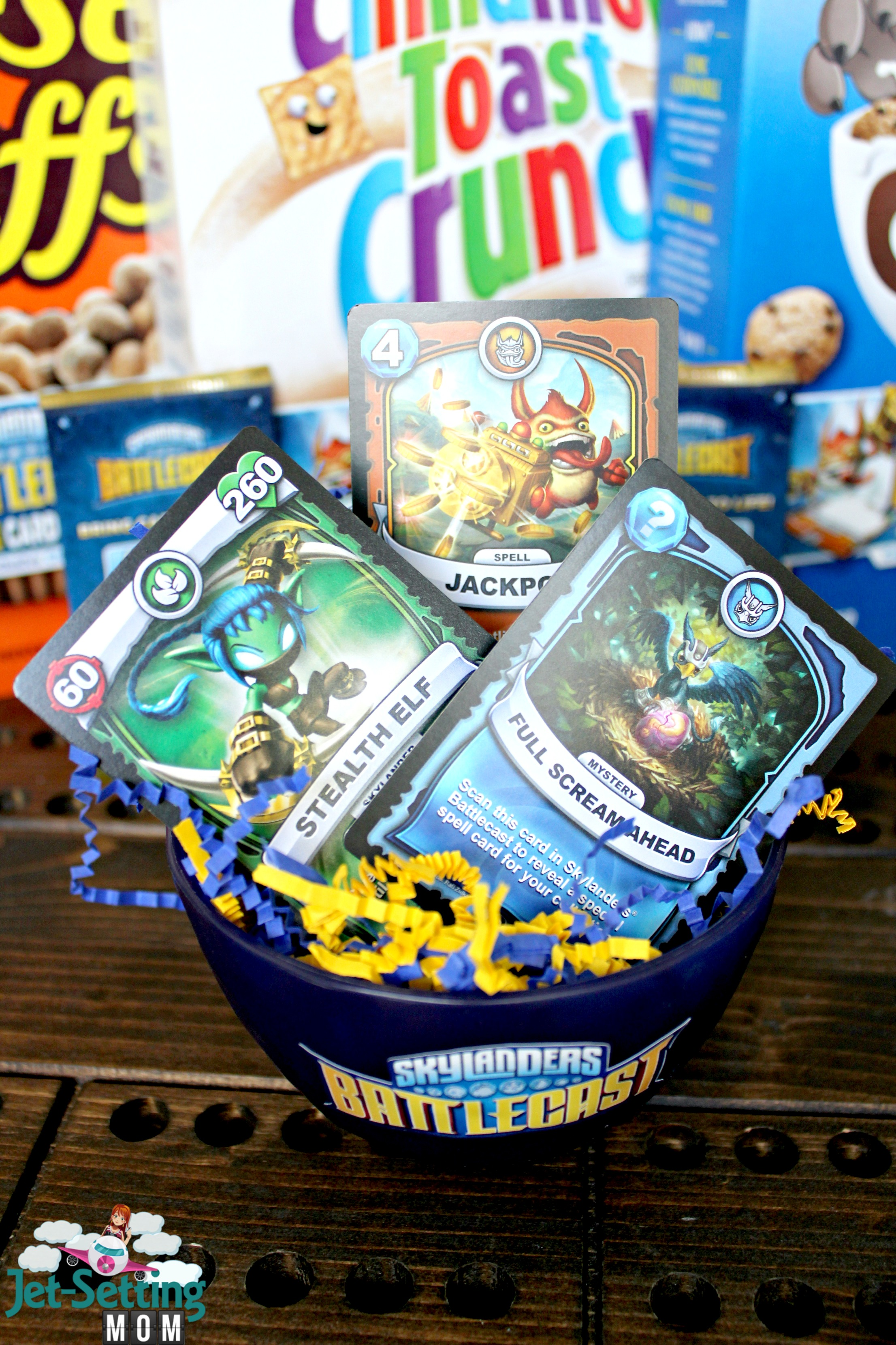 Find exclusive Skylanders #Battlecast cards in specially marked boxes of General Mills Cereals! #BigGBattlecast #ad