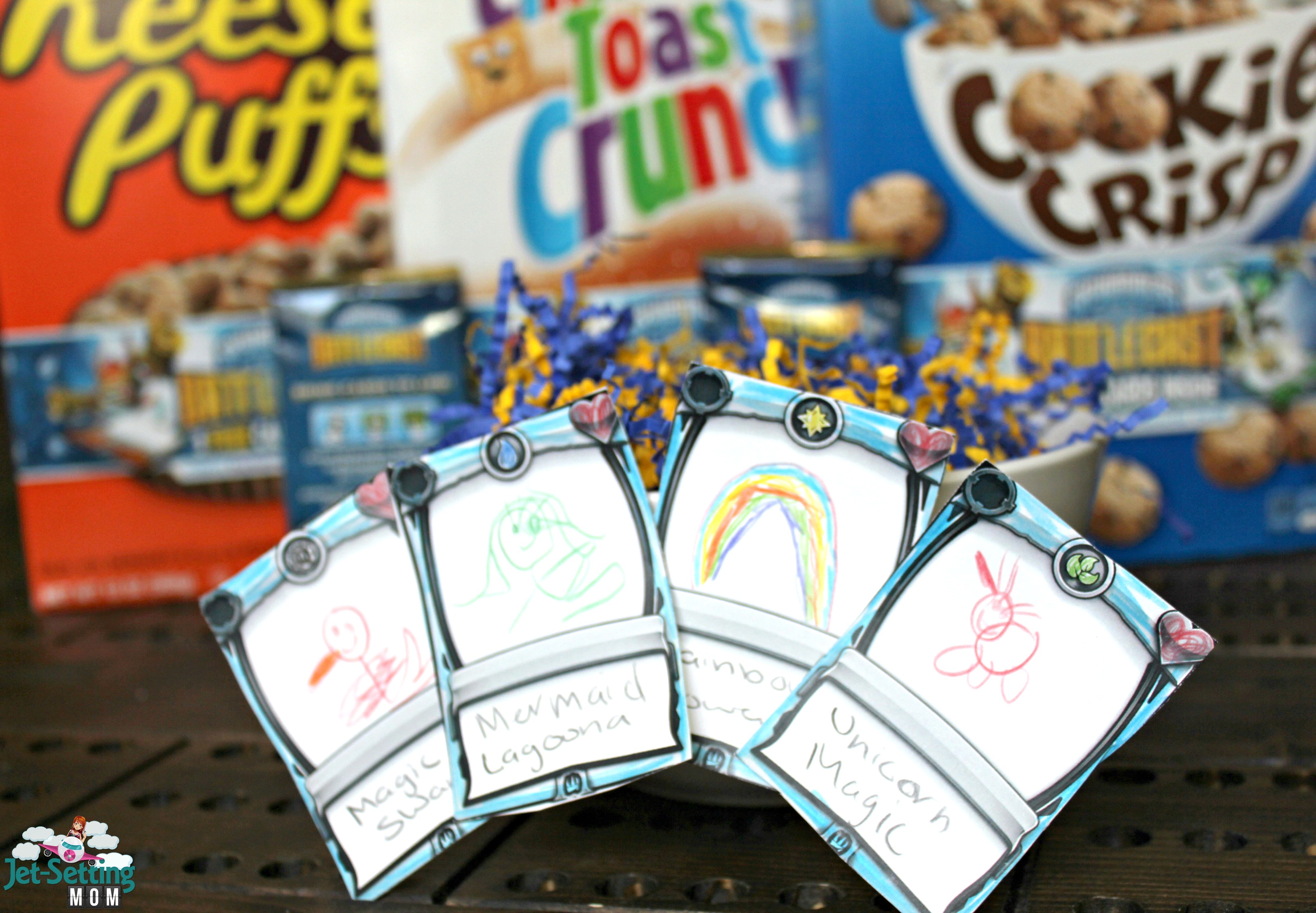 Grab new Skylanders #Battlecast cards in specially marked boxes of General Mills Cereals! #BigGBattlecast #ad
