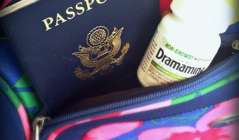 Travel happy and beat motion sickness with Dramamine® Non-Drowsy Naturals