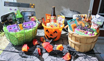 How To: Halloween BOO baskets + free BOO printables
