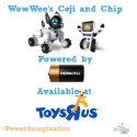 """Power Imagination with Duracell and WowWee's COJI and CHiP from Toys """"R"""" Us"""