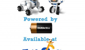 "Power Imagination with Duracell and WowWee's COJI and CHiP from Toys ""R"" Us"
