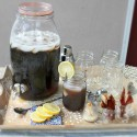 """Celebrate """"The 50th Annual CMA Awards"""" with the perfect country chic inspired serving tray + Texas Tea recipe"""