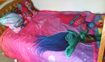 Bring home DreamWork's Trolls with themed bedding from Walmart