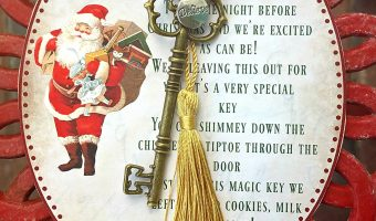 Creating holiday magic: Magic Santa Key how-to and free printable