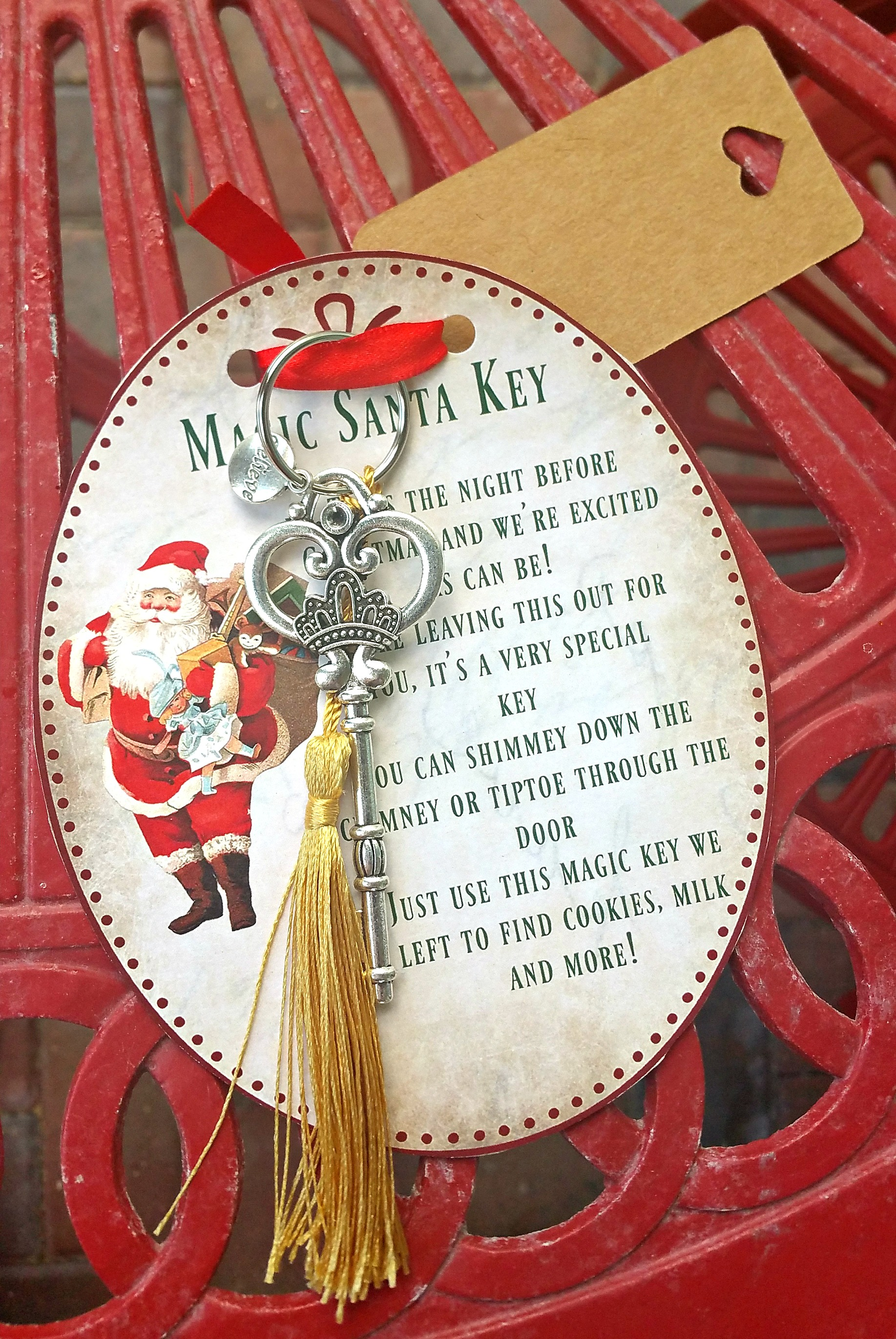 Magic Santa Key how-to with FREE Printable poem
