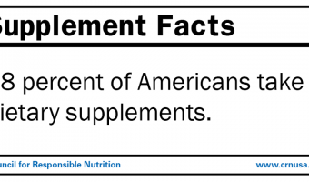 Dietary supplement facts: How they can benefit your family's well-being