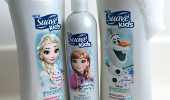 Make bath time fun with new products from Suave Kids®
