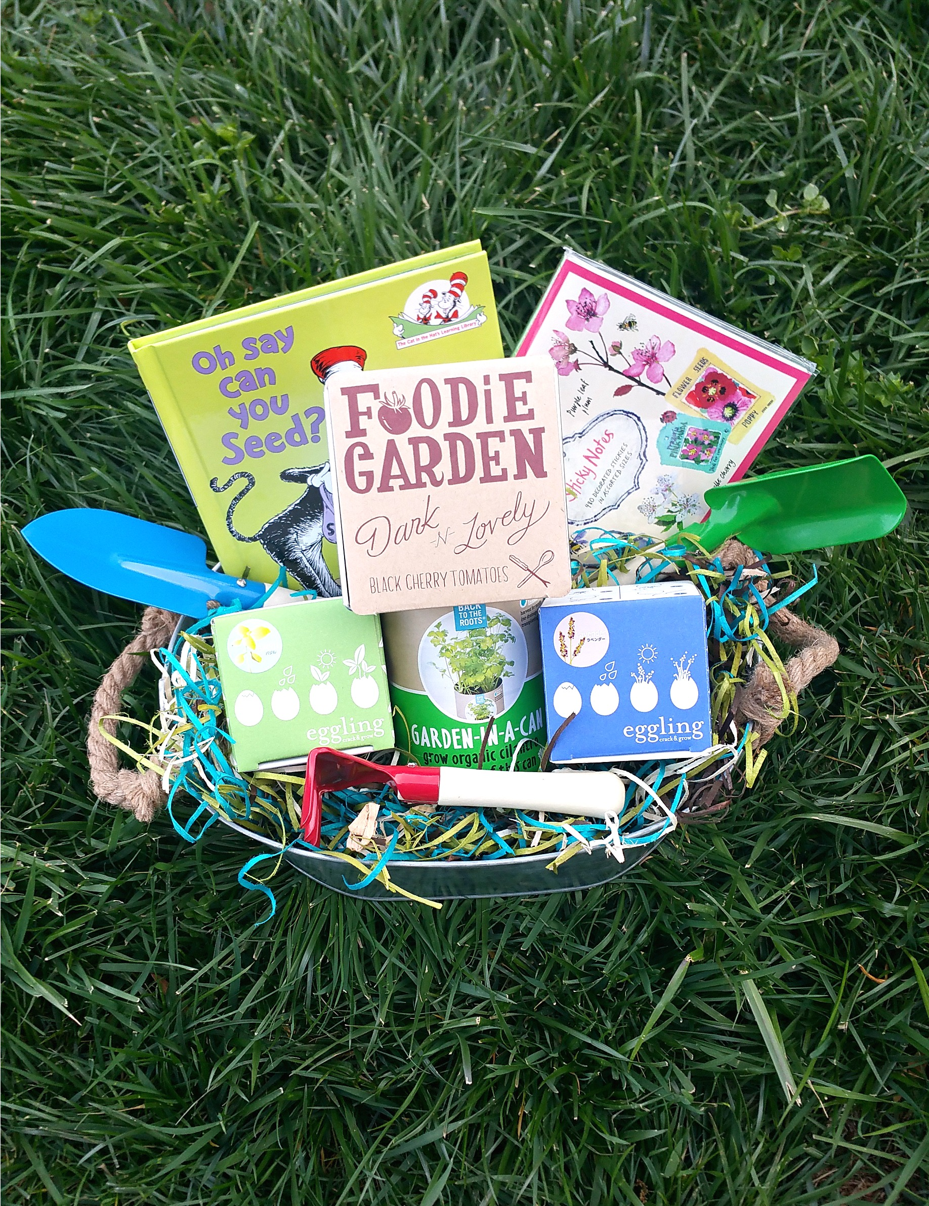 Spring Bloom Gift Basket Tutorial #worldmarkettribe #ad