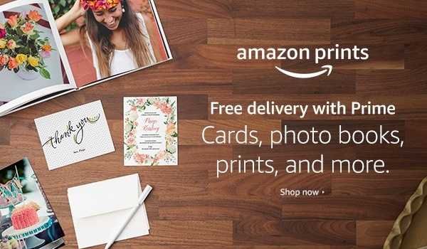Photo printing made easy with Amazon Prints + $1000 of Amazon Gift Cards to be Won!