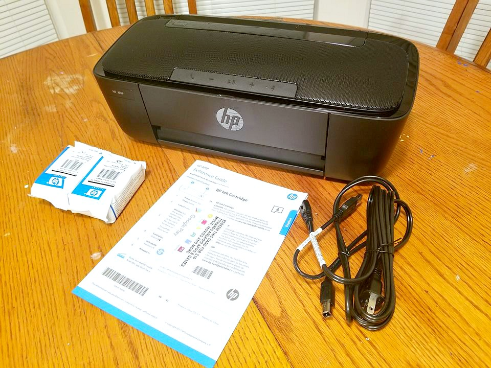 HP AMP 100 Printer Review: The Perfect All-In-One Office Assistant