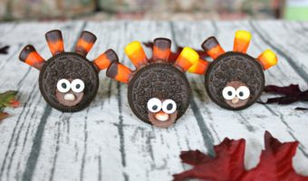 DIY Thanksgiving Oreo Turkey Cookies – A Tasty Togetherness Craft