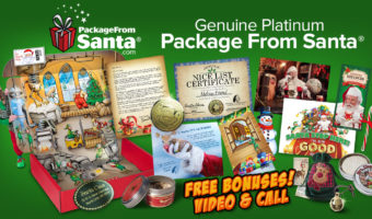 Send Christmas magic with PackageFromSanta.com + Coupon Code