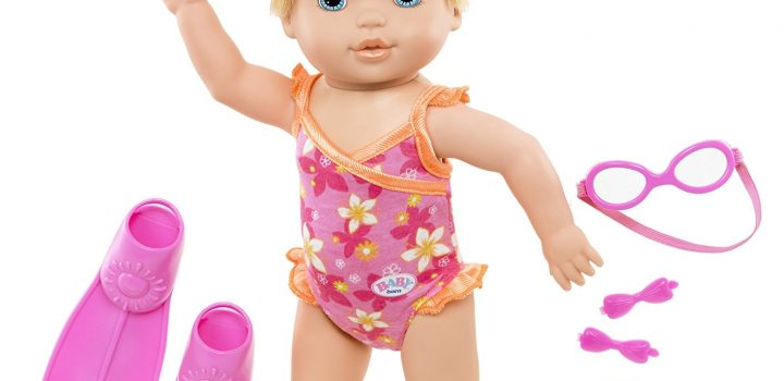 Spring Gift Guide Spotlight: BABY born MOMMY!, Look I Can Swim doll