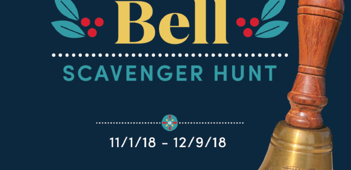 Ring in the holiday season with World Market's Golden Bell Scavenger Hunt Game